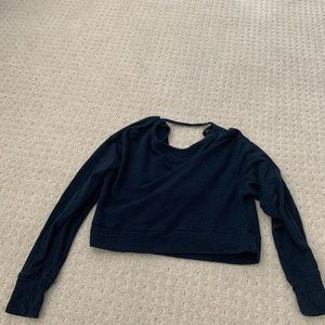 BCBG cropped sweatshirt
